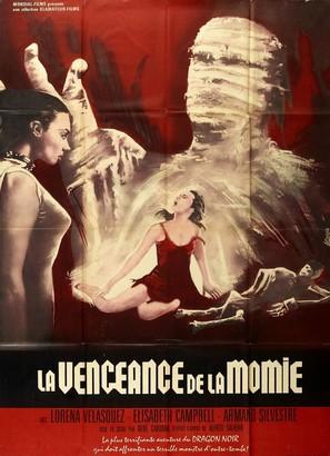 Las luchadoras contra la momia - Mexican Movie Poster (thumbnail)