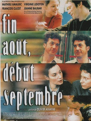 Fin août, début septembre - French Movie Poster (thumbnail)