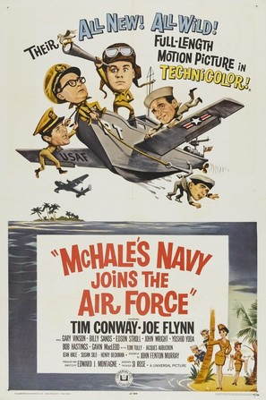 McHale's Navy Joins the Air Force - Movie Poster (thumbnail)