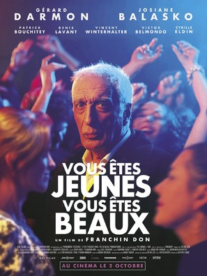 Vous êtes jeunes vous êtes beaux - French Movie Poster (thumbnail)