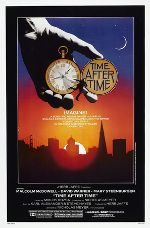 Time After Time - Theatrical movie poster (thumbnail)