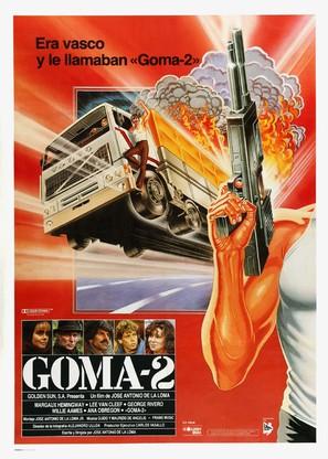 Goma-2 - Spanish Movie Poster (thumbnail)
