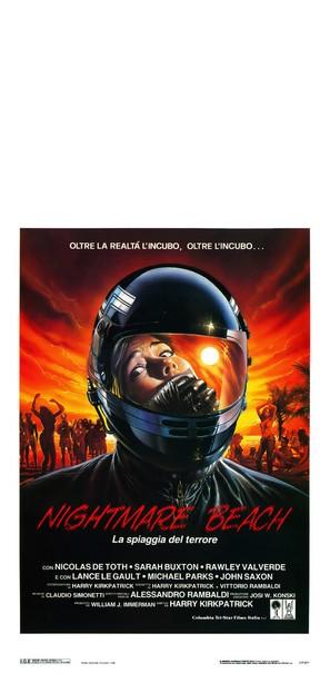 Nightmare Beach - Italian Movie Poster (thumbnail)