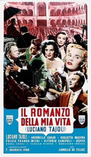 Il romanzo della mia vita - Italian Movie Poster (thumbnail)