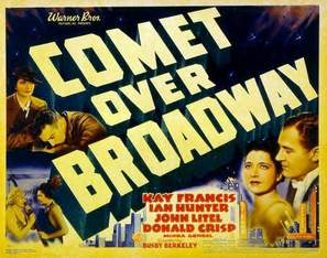 Comet Over Broadway - Movie Poster (thumbnail)