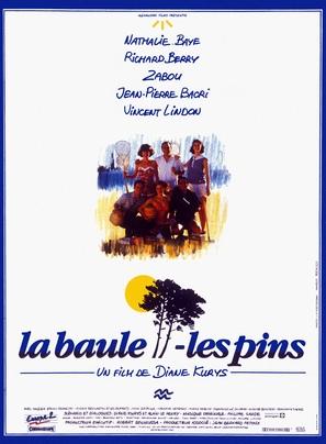 La baule-les Pins - French Movie Poster (thumbnail)