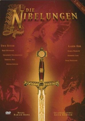 Die Nibelungen, Teil 1: Siegfried - German Movie Cover (thumbnail)