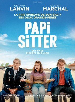 Papi Sitter - French Movie Poster (thumbnail)