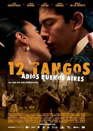 12 tangos - Pasaje de regreso a Buenos Aires - German poster (thumbnail)