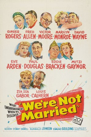 We're Not Married! - Movie Poster (thumbnail)