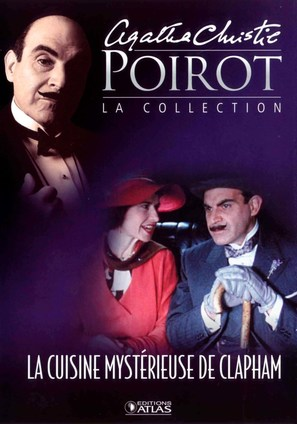 """""""Poirot"""" The Adventure of the Clapham Cook - French poster (thumbnail)"""