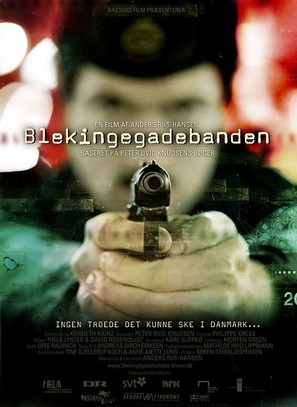 Blekingegadebanden - Danish Movie Poster (thumbnail)