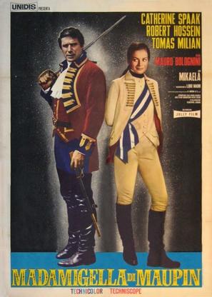 Madamigella di Maupin - Italian Movie Poster (thumbnail)