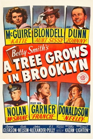 A Tree Grows in Brooklyn - Movie Poster (thumbnail)