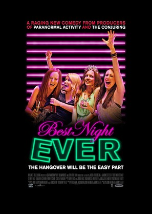 Best Night Ever - Movie Poster (thumbnail)