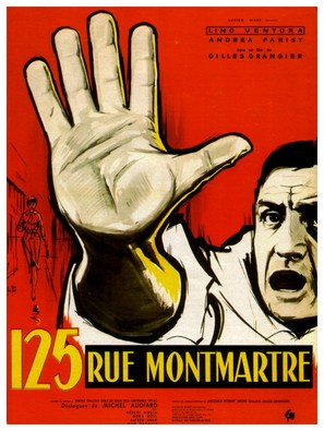 125 rue Montmartre - French Movie Poster (thumbnail)