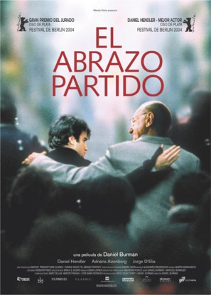 El abrazo partido - Spanish Movie Poster (thumbnail)