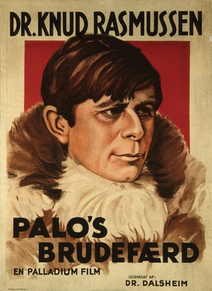 Palos brudefærd - Danish Movie Poster (thumbnail)
