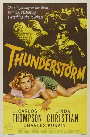 Thunderstorm - Movie Poster (thumbnail)