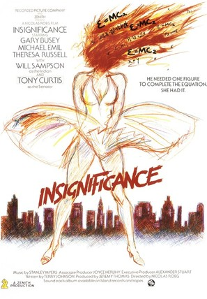 Insignificance - British Movie Poster (thumbnail)