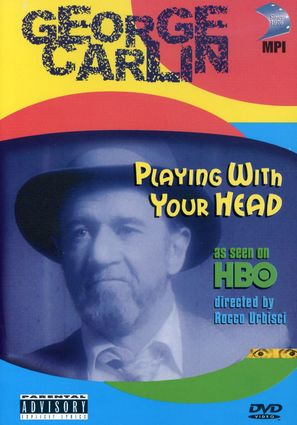 George Carlin: Playin' with Your Head - DVD movie cover (thumbnail)