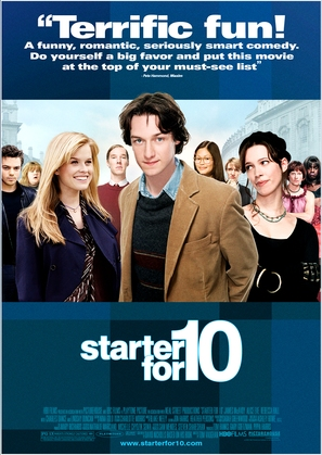 Starter for 10 - Theatrical movie poster (thumbnail)
