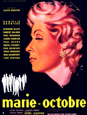 Marie-Octobre - French Movie Poster (thumbnail)