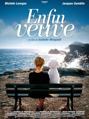 Enfin veuve - French Movie Poster (thumbnail)