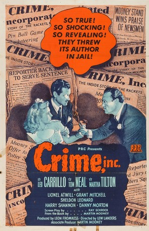 Crime, Inc. - Movie Poster (thumbnail)