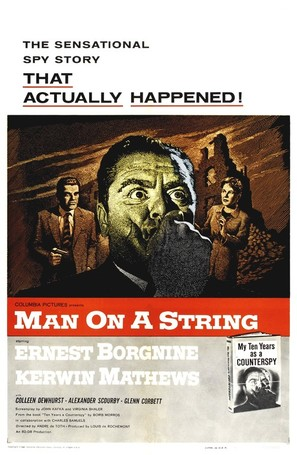 Man on a String - Movie Poster (thumbnail)