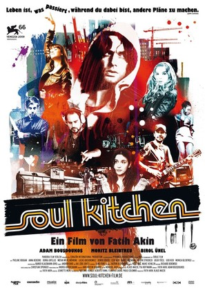 Soul Kitchen - German Movie Poster (thumbnail)