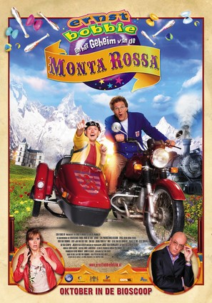 Ernst & Bobbie en 'Het geheim van de Monta Rossa' - Dutch Movie Poster (thumbnail)