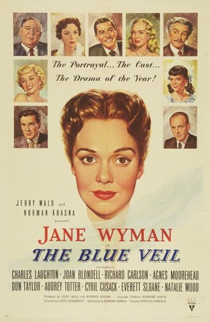 The Blue Veil - Movie Poster (thumbnail)