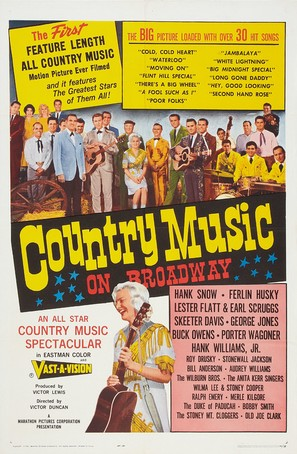 Country Music on Broadway - Movie Poster (thumbnail)