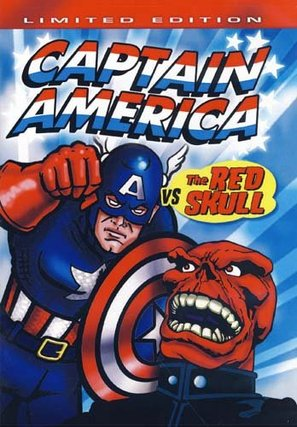 """Captain America"" - DVD movie cover (thumbnail)"