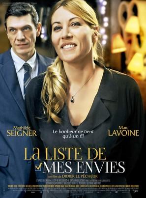 La liste de mes envies - French Movie Poster (thumbnail)