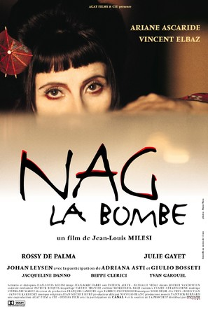 Nag la bombe - French Movie Poster (thumbnail)