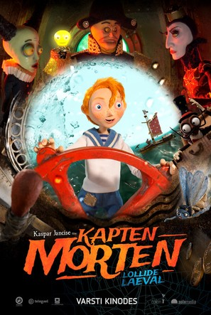 Captain Morten and the Spider Queen - Estonian Movie Poster (thumbnail)