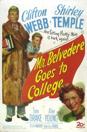 Mr. Belvedere Goes to College - Movie Poster (thumbnail)