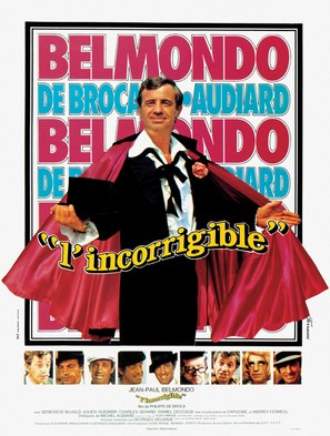 L'incorrigible - French Movie Poster (thumbnail)