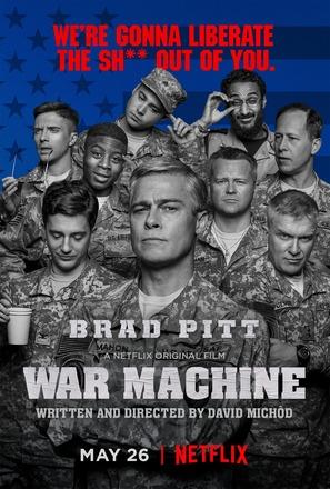 War Machine - Movie Poster (thumbnail)