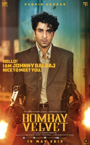 Bombay Velvet - Indian Movie Poster (thumbnail)