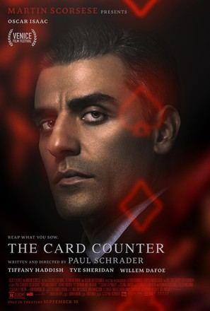 The Card Counter - Movie Poster (thumbnail)