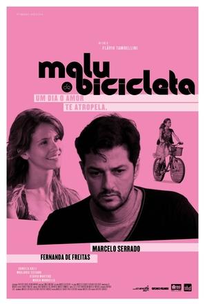 Malu de Bicicleta - Brazilian Movie Poster (thumbnail)