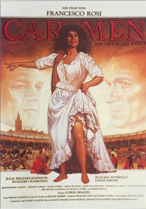 Carmen - German Movie Poster (thumbnail)