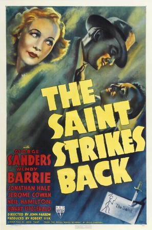 The Saint Strikes Back - Movie Poster (thumbnail)