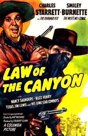 Law of the Canyon - Movie Poster (thumbnail)
