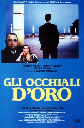 Occhiali d'oro, Gli - Italian Movie Poster (thumbnail)