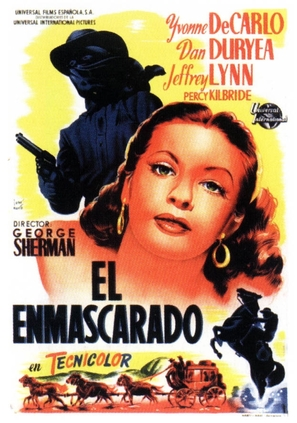 Black Bart - Spanish Movie Poster (thumbnail)