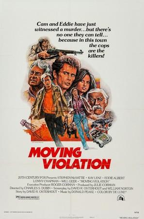 Moving Violation - Movie Poster (thumbnail)